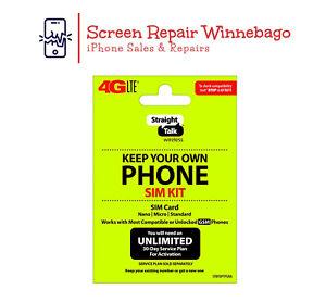 Straight Talk - Bring Your Own Phone (BYOP)  SIM Card - Straight Talk GSM + CDMA