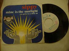 "SIPPY""MINE IS THE SUNLIGHT-disco 45 giri ARIS 1976"" Italo Disco"