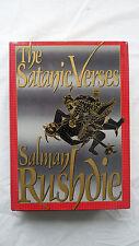 The Satanic Verses Book by Salman Rushdie Hardcover w/ Dust Jacket