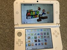 Nintendo 3ds Xl Pink And White + Lot Of 16 Games