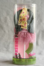 Barbie Doll Fashion Fever Mannequin Tube Shoes Jacket Scarf Lace Skirt 2005 MIB