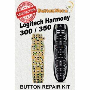 ButtonWorx™ Logitech Harmony 300 350 Remote Control Button repair kit