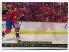 ALEX OVECHKIN 2017-18 UD TIM HORTONS TRIPLE EXPOSURE INSERT CARD TE-18