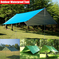 Hammock Tent Shade Ground Mat Ultralight Garden Canopy Awning Waterproof Tarp