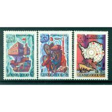 URSS 1981 - Y & T n. 4766/68 - Traité de l'Antarctique