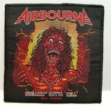 AIRBOURNE ( breakin' outta hell )  OFFICIAL WOVEN  PATCH