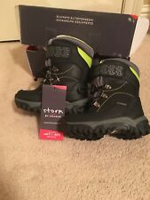 New Storm By Cougar Titus Boys Winter Boots SZ 11 Black/ Lime