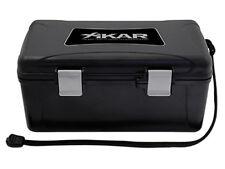 Xikar Travel Humidor - Hold 15 Cigars - Black