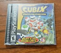 CUBIX – ROBOTS FOR EVERYONE (RACE'N ROBOTS) – PLAYSTATION (PS1) – VIDEO GAME