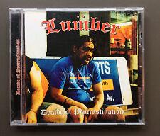 LUMBER - Decade Of Procrastination CD Like NEW 7 Tracks 2006 Australian Band