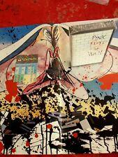 PINK FLOYD Official US TOUR Programm + Ticket 2-26,1980 N-Y + Cassette M-SEALED