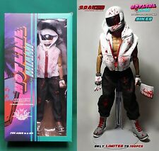 Hotline Miami Biker Figure 1/6 Scale 12'' Blood Soaked Edition Only 100 Made