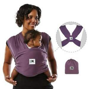 Baby K'tan Original Baby Carrier - Eggplant Size Large