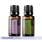 doTERRA Lavender 15ml Tea Tree 15ml Therapeutic Grade Essential Oil Aromatherapy