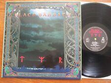ORIGINAL LP BLACK SABBATH TYR 1990 1ST PRESS IN BEAUTIFUL CONDITION !!! NM & EX