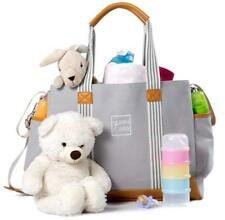 Diaper Bag for Girls and Boys - Large Capacity Baby Bag - Nappy Bag