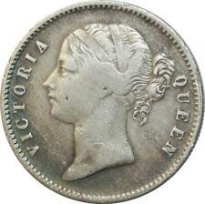 T4256 British India victoria one rupee 1840 silver silver - > make offer