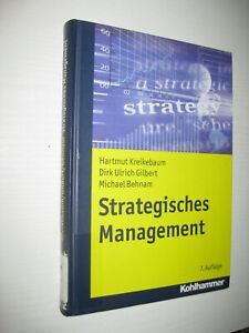 Strategisches Management von Dirk Ulrich Gilbert, Michael Behnam ... 7. Auf 2011