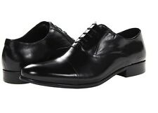 NEW Kenneth Cole New York Chief Council Black Leather Oxford Dress Shoes Size 7