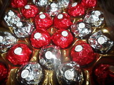 Wedding Ferrero Rocher Red & Silver 250 chocs (10 cases of 24 + 10 chocs)