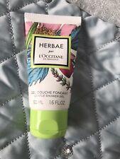 L'Occitane Herbae Shower Gel 50 Ml Travel New