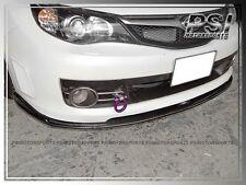 STI Style Front Bumper Lip Carbon Fiber for 2008-2010 Subaru Impreza WRX GRB STI