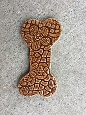 Handmade Art Tile Dog Bone Mosaic Art Craft New