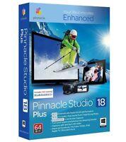 Pinnacle Studio 18 Plus HD/3D Video Editing Sealed Box