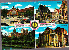 Vintage used Postcard, Germany, Multiview Osnabruck,