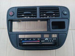 1996 - 1998 Honda Civic Radio Climate Control Bezel Trim OEM Original