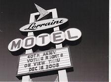 """Lorraine Hotel"" (MLK) /w/Sign ""40th Anniversary/Voting Rights"" 'Postcard' (B342"