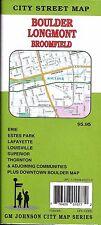 City Street Map of Boulder, Longmont, & Broomfield, Colorado, by GMJ