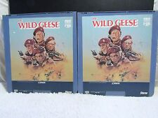 Ced VideoDisc The Wild Geese (1978) Cbs/Fox Video, Lorimar Films, Part 1 and 2
