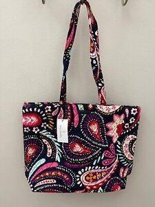 Vera Bradley Essential Tote Bag in Painted Paisley - NWT - MSRP $59