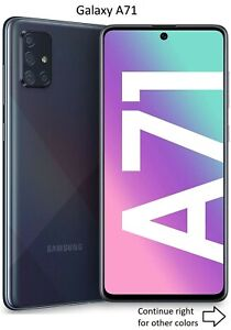 Samsung Galaxy A71 / A71 5G   128GB   AT&T ONLY or GSM Unlocked Smart Cell Phone