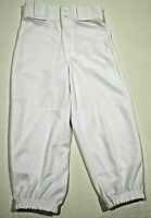 Rawlings Youth Classic Fit Belted Baseball Pant Boys White Small, Free Shipping!