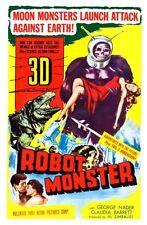 """Robot Monster Movie Poster Mini 11""""X17"""""""