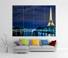 EIFFEL TOWER PARIS FRANCE GIANT WALL ART PRINT POSTER H74