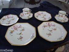 Herend RARE 4 pc. Luncheon Set in JM (Jardin Mediterranean) Pattern