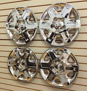 2008-2013 CHROME Grand CARAVAN Town & Country Hubcap Wheelcovers SET of 4