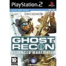 Tom Clancy's Ghost Recon: Advanced Warfighter (PS2), très bon PlayStation 2, Pla