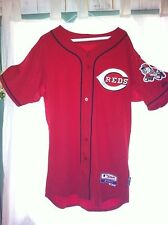 Cincinnati Reds Official Batting Practice Jersey Majestic Cool Base RARE