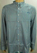 Huk Santiago Phenom Quick Dry Button Front Fishing Shirt L SPF +30