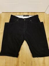 Mens French Connection Cords Corduroy Jeans trousers W34 L32 34 32 inches Black