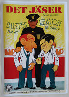 XL HiQ Facsimile 1933 What No Beer?Movie Poster~Jimmy Durante&Buster Keaton36x26