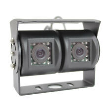 Twin Reversing Camera with Rear View & Night Vision for Motorhome PAL System