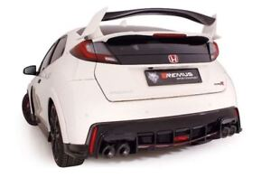 Remus Duplex System Honda Civic ( Ix) 2.0i Vtec Type R Each 0 3/32x4 1/32in