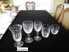 """PAIR WATERFORD VINTAGE """"KILDARE"""",OLD FASHIONEDS, 3 1/2""""H,PRICE PER PAIR"""