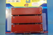 "Athearn 27867 3 x 40' Highcube Container ""FLORENS"" *ORIGINAL / herpa*"