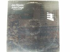 JAN STEELE / JOHN CAGE Voices and Instruments UK LP Obscure N°5